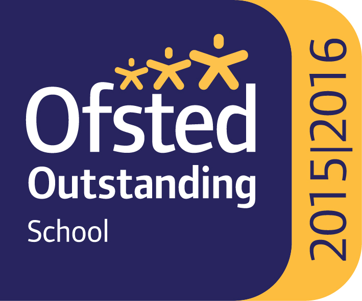 Ofsted Outstanding School logo