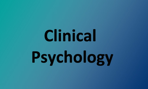 internal link to Clinical Psycology page